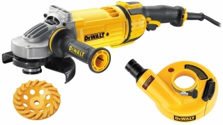 Úhlová bruska DeWalt DWE4597 KIT- 180 mm